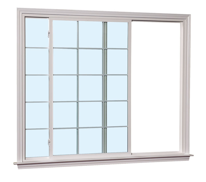 Slim Line Series 6000 Vinyl Slider Window