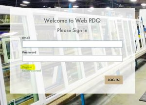 Prime PDQ Registration Sign In Sample
