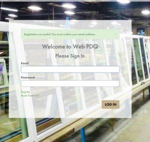 Prime PDQ Registration Sign In Sample