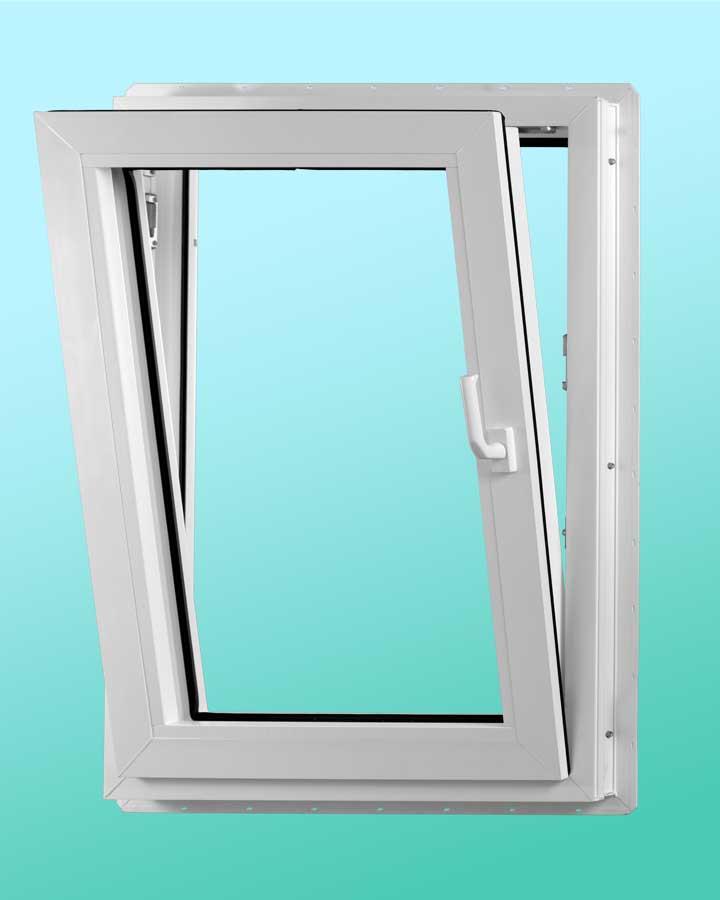 Series 1000 Vinyl Tilt-Turn Window - Tilted Position