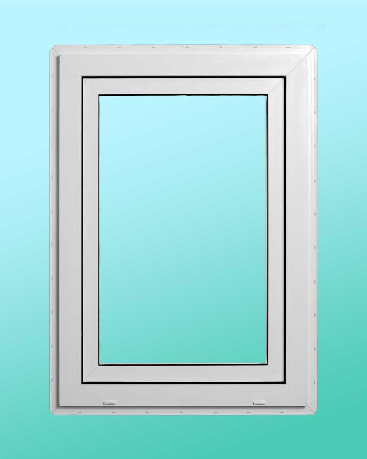 Series 1000 Vinyl Tilt-Turn Window - Exterior View