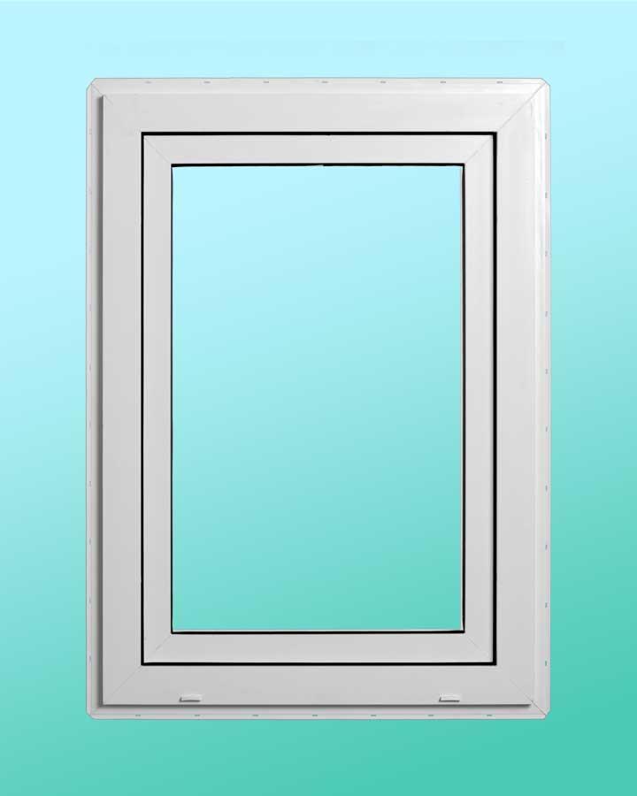 Series 1000 Vinyl Tilt-Turn Window - Exterior View