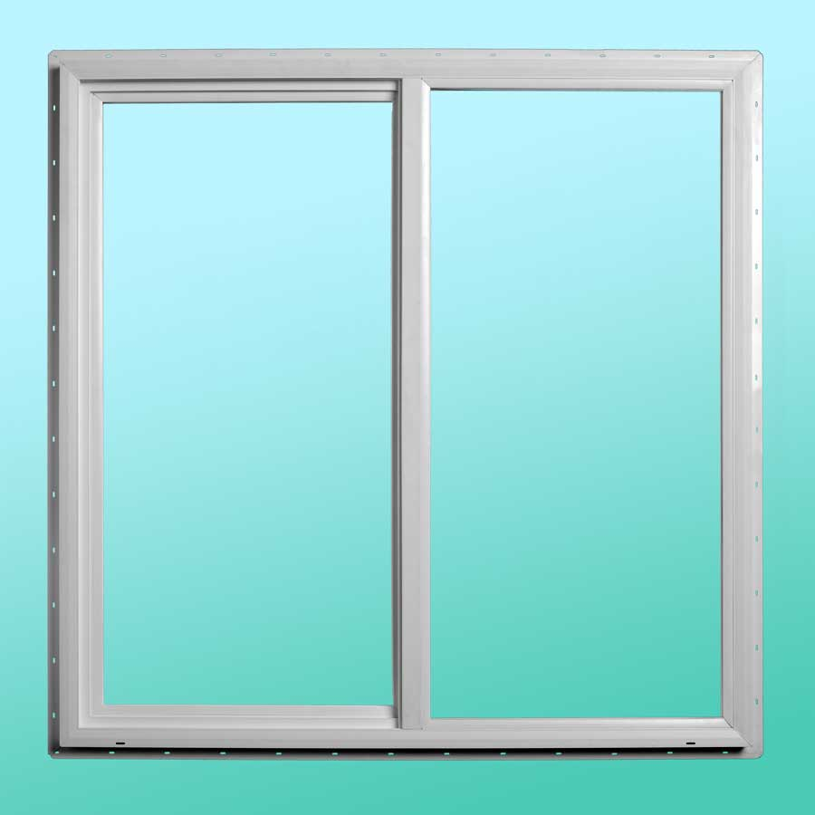 Slim Line Vinyl Slider Window - Exterior View