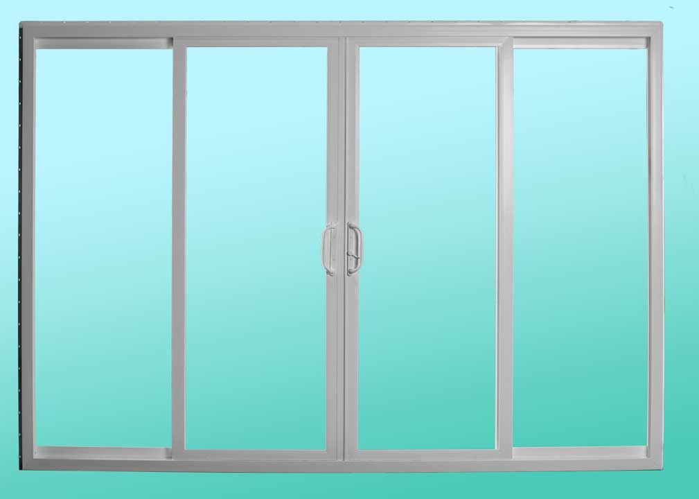 Series 411 Sliding Patio Doors - Interior Closed Position