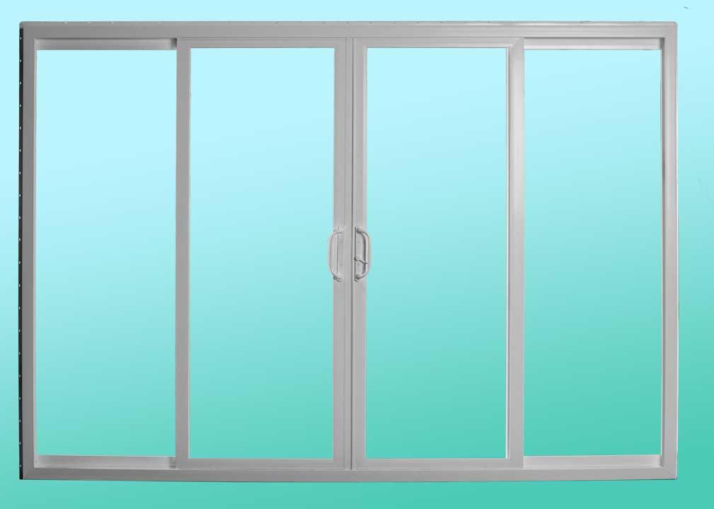 Series 411 Sliding Patio Doors - Interior Closed Position