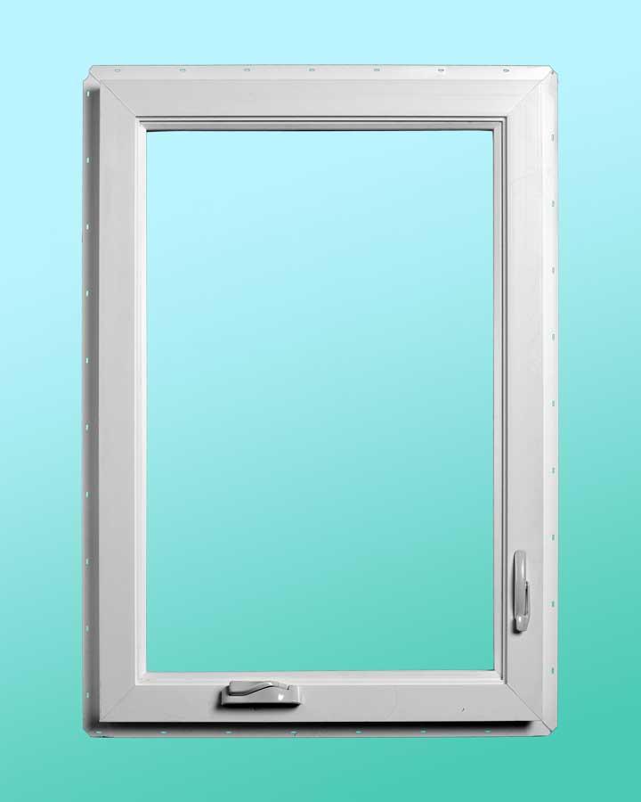 Series 720 Vinyl Awning Windows - Interior Closed Position