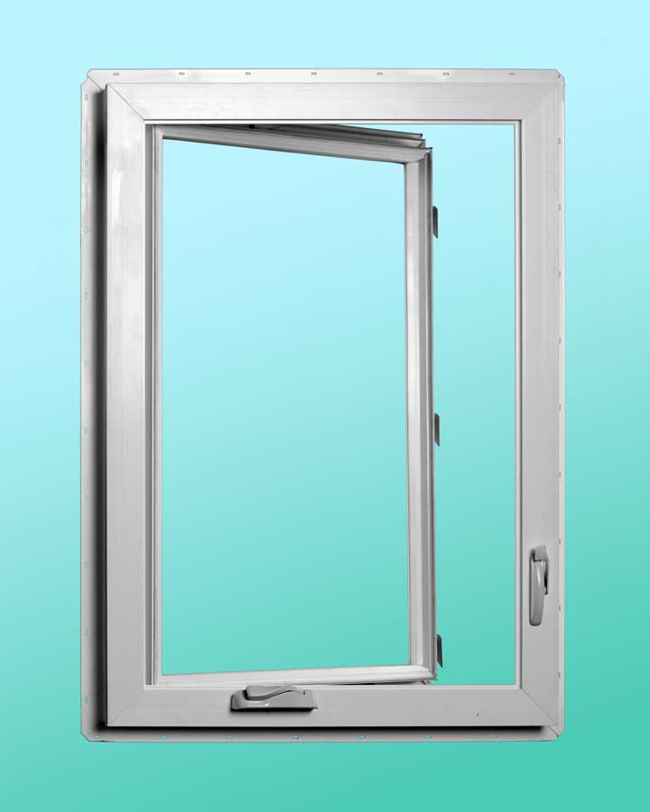 Series 720 Vinyl Awning Windows - Interior Open Position
