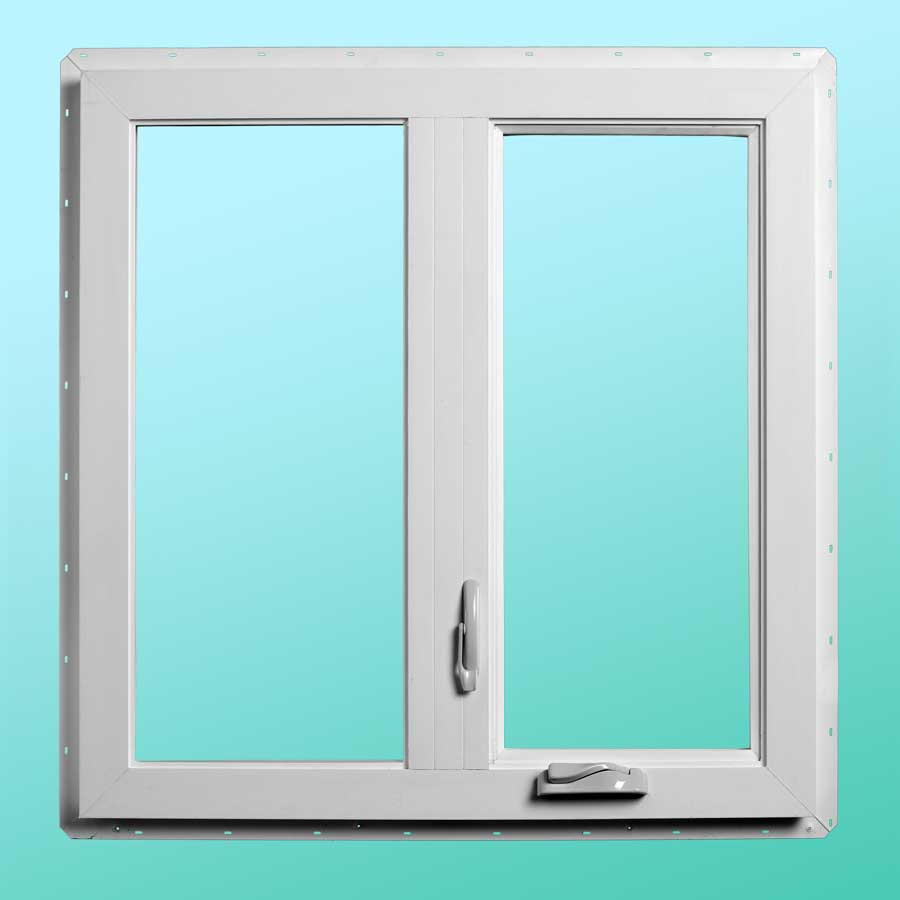 Series 720 Vinyl Casement Windows - Interior Closed Position