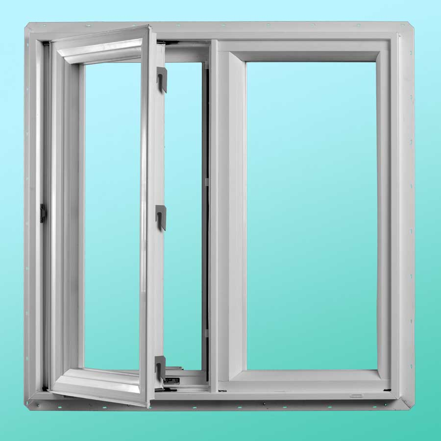 Series 720 Vinyl Casement Windows - Interior Open Position