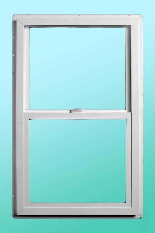 Series 9000 Vinyl Single Hung Windows - Interior Closed Position