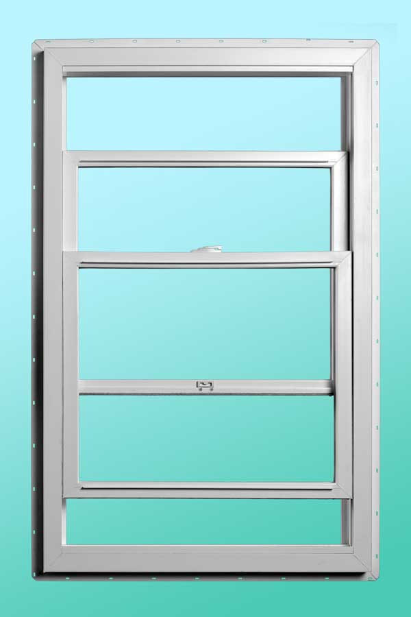 Series 9000 Vinyl Single Hung Windows - Interior Open Position