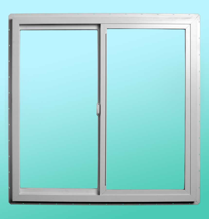 Series 9000 Vinyl Slider Windows - Interior Closed Position