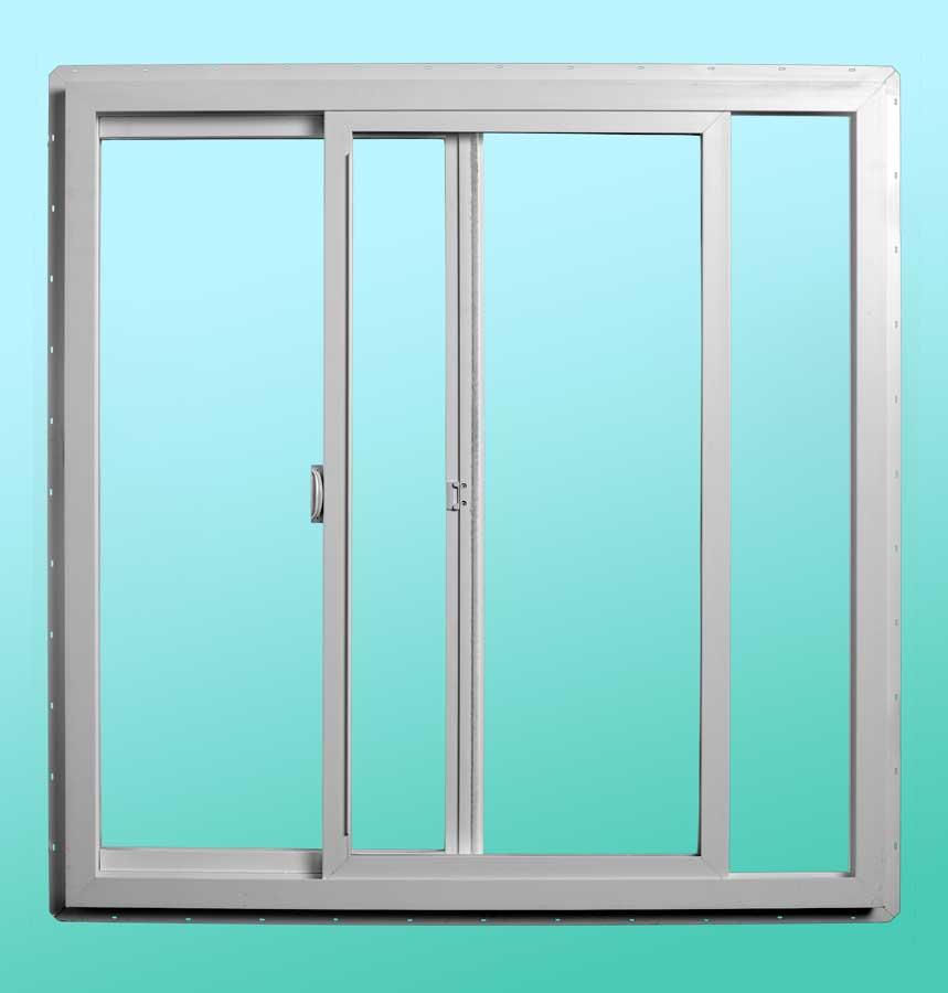 Series 9000 Vinyl Slider Windows - Interior Open Position
