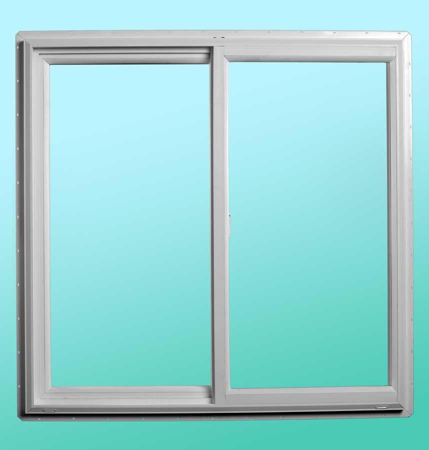 Series 9000 Vinyl Slider Windows - Interior View